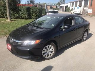 Used 2012 Honda Civic for sale in Brampton, ON