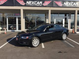 Used 2014 Audi A4 2.0 KOMFORFT AWD AUT0 LEATHER SUNROOF 138K for sale in North York, ON
