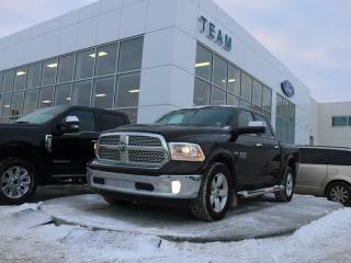 Used 2014 Dodge Ram 1500 LARAMIE, ACCIDENT FREE, 5.7L HEMI V8, NAV, HEATED/COOLED FRONT SEATS, HEATED STEERING, BLUETOOTH, REAR CAMERA, LTHER, 4X4 for sale in Edmonton, AB