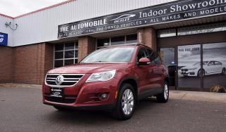 Used 2009 Volkswagen Tiguan AWD 4motion COMFORTLINE PANO ROOF NO ACCIDENT for sale in Mississauga, ON