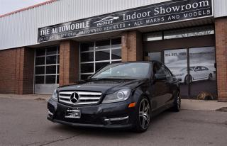 Used 2012 Mercedes-Benz C 350 C-CLASS 4MATIC AWD NAVI BACK-UP CAMERA PANO ROOF for sale in Mississauga, ON