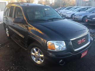 Used 2005 GMC Envoy SLT/4WD/AUTO/LEATHER/SUNROOF/LOADED/CLEAN for sale in Scarborough, ON