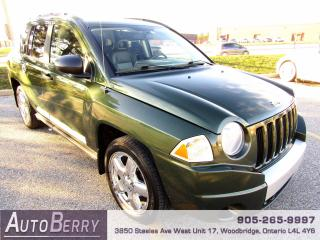 Used 2007 Jeep Compass Limited - 2.4L - 4WD for sale in Woodbridge, ON