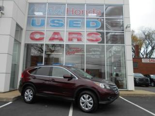 Used 2013 Honda CR-V EX-L HEATED LEATHER POWER BUCKET FRONT SEATS for sale in Halifax, NS