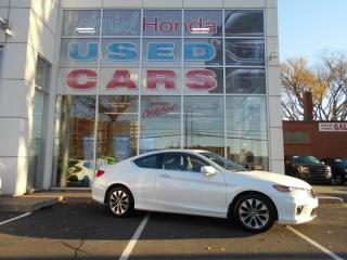 Used 2014 Honda Accord EX-L w/Navi LEATHER HEATED AND POWER BUCKET SEATS for sale in Halifax, NS