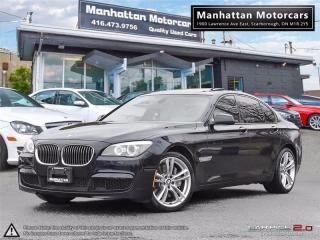 Used 2012 BMW 750i 750i X-DRIVE M-SPORT PKG |NAV|CAMERA|HEADSUP for sale in Scarborough, ON