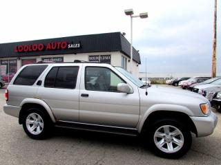Used 2003 Nissan Pathfinder LE 4X4 AUTOMATIC SUNROOF ALLOYS for sale in Milton, ON