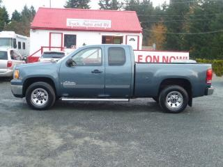Used 2009 GMC Sierra 1500 SLE for sale in Parksville, BC