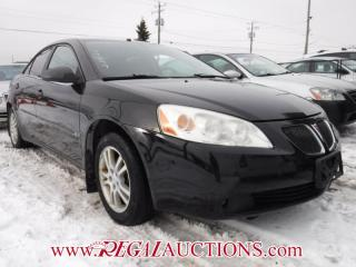 Used 2006 Pontiac G6 Base 4D Sedan for sale in Calgary, AB