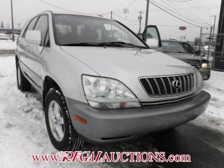 Used 2003 Lexus RX300  4D UTILITY for sale in Calgary, AB
