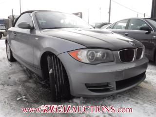 Used 2009 BMW 1 SERIES 128I 2D CABRIOLET for sale in Calgary, AB