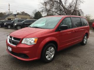 Used 2012 Dodge GRAND CARAVAN AMERICAN VALUE PACKAGE * POWER GROUP * 7 PASS for sale in London, ON