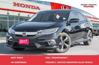 Used 2017 Honda Civic Touring | Automatic for sale in Whitby, ON