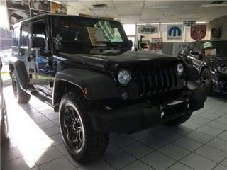 Used 2017 Jeep Wrangler UNLIMITED SPORT for sale in Cornwall, ON