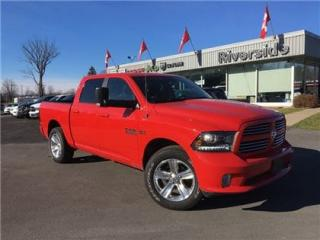 Used 2017 Dodge Ram 1500 Sport for sale in Cornwall, ON