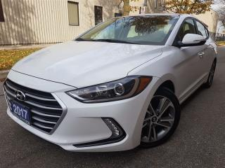 Used 2017 Hyundai Elantra GLS-2.99% available-blind spot-push start for sale in Mississauga, ON