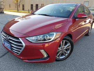 Used 2017 Hyundai Elantra GL-heted steerin-alloys-rear camera for sale in Mississauga, ON