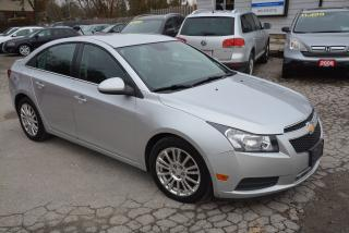 Used 2012 Chevrolet Cruze Eco for sale in Hornby, ON