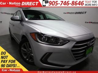Used 2018 Hyundai Elantra GL| BACK UP CAMERA| BLIND SPOT DETECTION| for sale in Burlington, ON