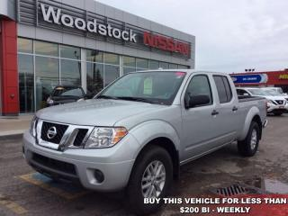 Used 2017 Nissan Frontier SV  Air Conditioning Keyless Entry for sale in Woodstock, ON
