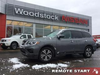 Used 2017 Nissan Pathfinder SL  - Leather Seats -  Bluetooth - $224.74 B/W for sale in Woodstock, ON