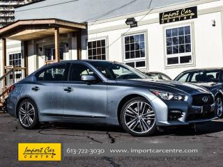 Used 2014 Infiniti Q50 Sport Technology Package for sale in Ottawa, ON
