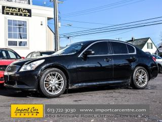 Used 2008 Infiniti G35X SPORT for sale in Ottawa, ON