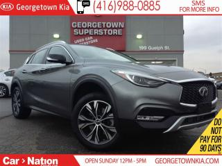 Used 2017 Infiniti QX30 TECK PACKAGE | NAVI | PANO ROOF | AWD | for sale in Georgetown, ON