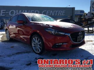Used 2017 Mazda MAZDA3 GT - LEATHER SEATING & SUNROOF-toronto for sale in North York, ON