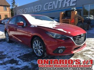 Used 2014 Mazda MAZDA3 GT - LEATHER SEATING & SUNROOF LEATHER / - Toronto for sale in North York, ON