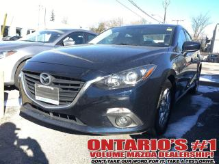 Used 2015 Mazda MAZDA3 GSGS SKY SUNROOF/ HEATED SEATS -TORONTO for sale in North York, ON