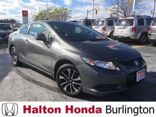 Used 2013 Honda Civic COUPE LX|ACCIDENT FREE for sale in Burlington, ON