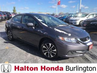 Used 2015 Honda Civic Sedan EX|ONE OWNER| SERVICE HISTORY ON FILE for sale in Burlington, ON