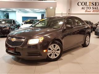 Used 2014 Chevrolet Cruze LT-AUTOMATIC-BLUETOOTH-FACTORY WARRANTY-ONLY 78KM for sale in York, ON