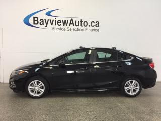 Used 2016 Chevrolet Cruze RS- TURBO|REM STRT|HTD STS|BOSE|REV CAM|ON STAR! for sale in Belleville, ON