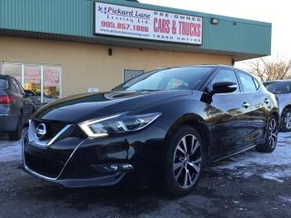 Used 2016 Nissan Maxima SV #184.38 BI WEEKLY! $0 DOWN! CERTIFIED! for sale in Bolton, ON