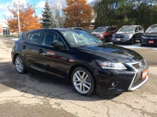 Used 2014 Lexus CT 200h 1 OWNER..ACCIDENT FREE.. for sale in Milton, ON