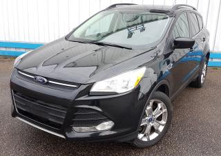 Used 2014 Ford Escape SE 4WD *LEATHER-SUNROOF-NAVIGATION* for sale in Kitchener, ON