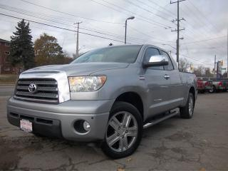 Used 2007 Toyota Tundra Limited  for sale in Whitby, ON