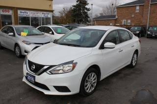 Used 2016 Nissan Sentra SV Backup Cam Heated Seats Push Start for sale in Brampton, ON