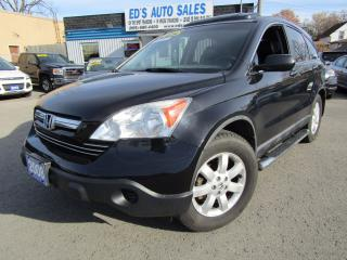 Used 2008 Honda CR-V EX-L, Navigation, Back-Up Cam for sale in St Catharines, ON
