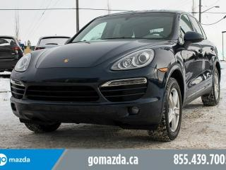 Used 2014 Porsche Cayenne Platinum Edition AWD LEATHER SUNROOF NAVIGATION PREMIUM GREY INTERIOR ACCIDENT FREE 1 OWNER WINTER TIRES for sale in Edmonton, AB