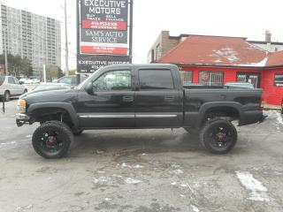 Used 2004 GMC Sierra 1500 4X4 LIFTED!! VERY CLEAN!! for sale in Scarborough, ON
