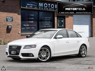 Used 2011 Audi A4 2.0T Premium Plus S-Line *LOADED, CERTIFIED, MINT* for sale in Scarborough, ON