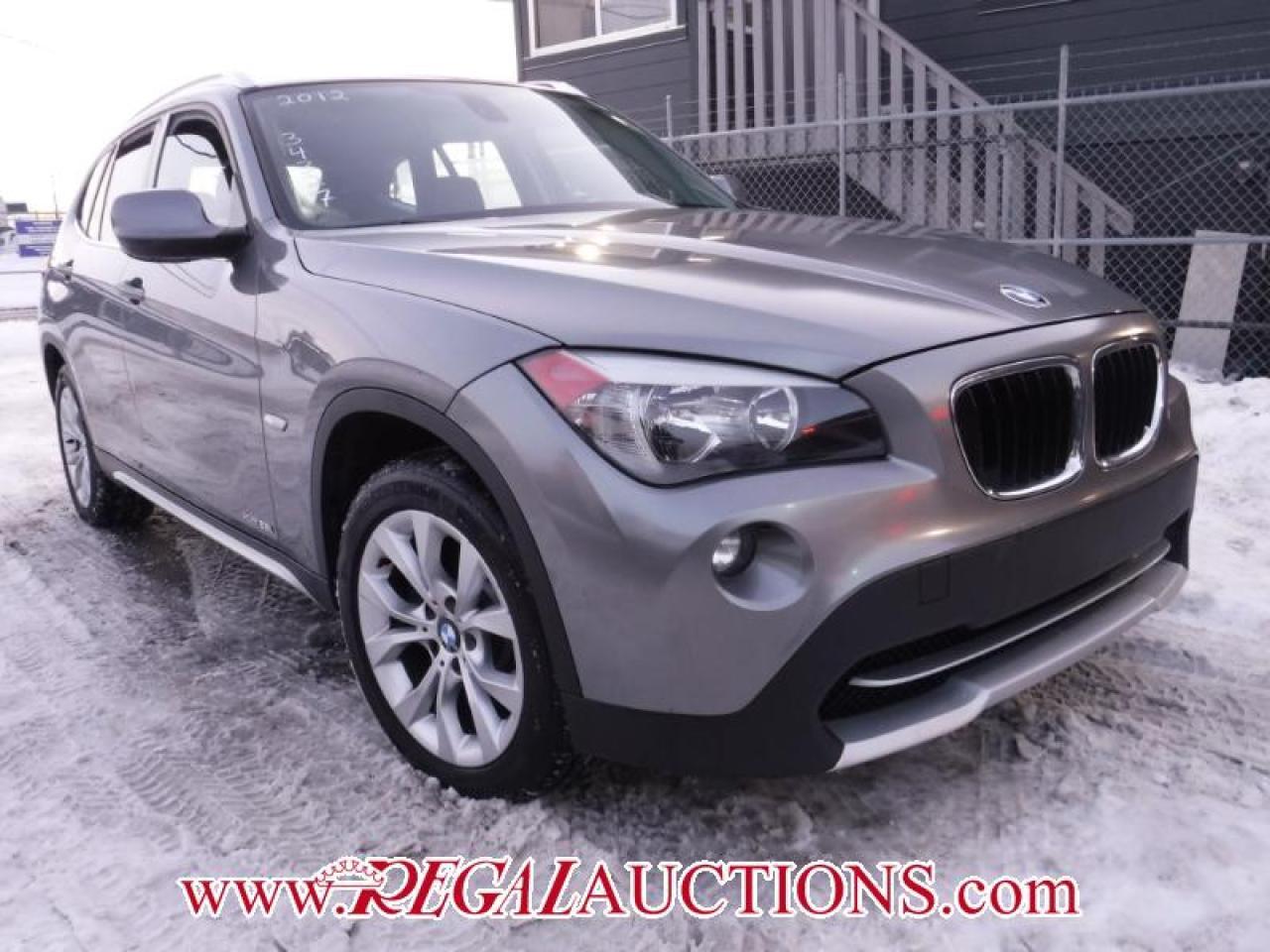 2012 BMW X1 XDRIVE28I 4D UTILITY