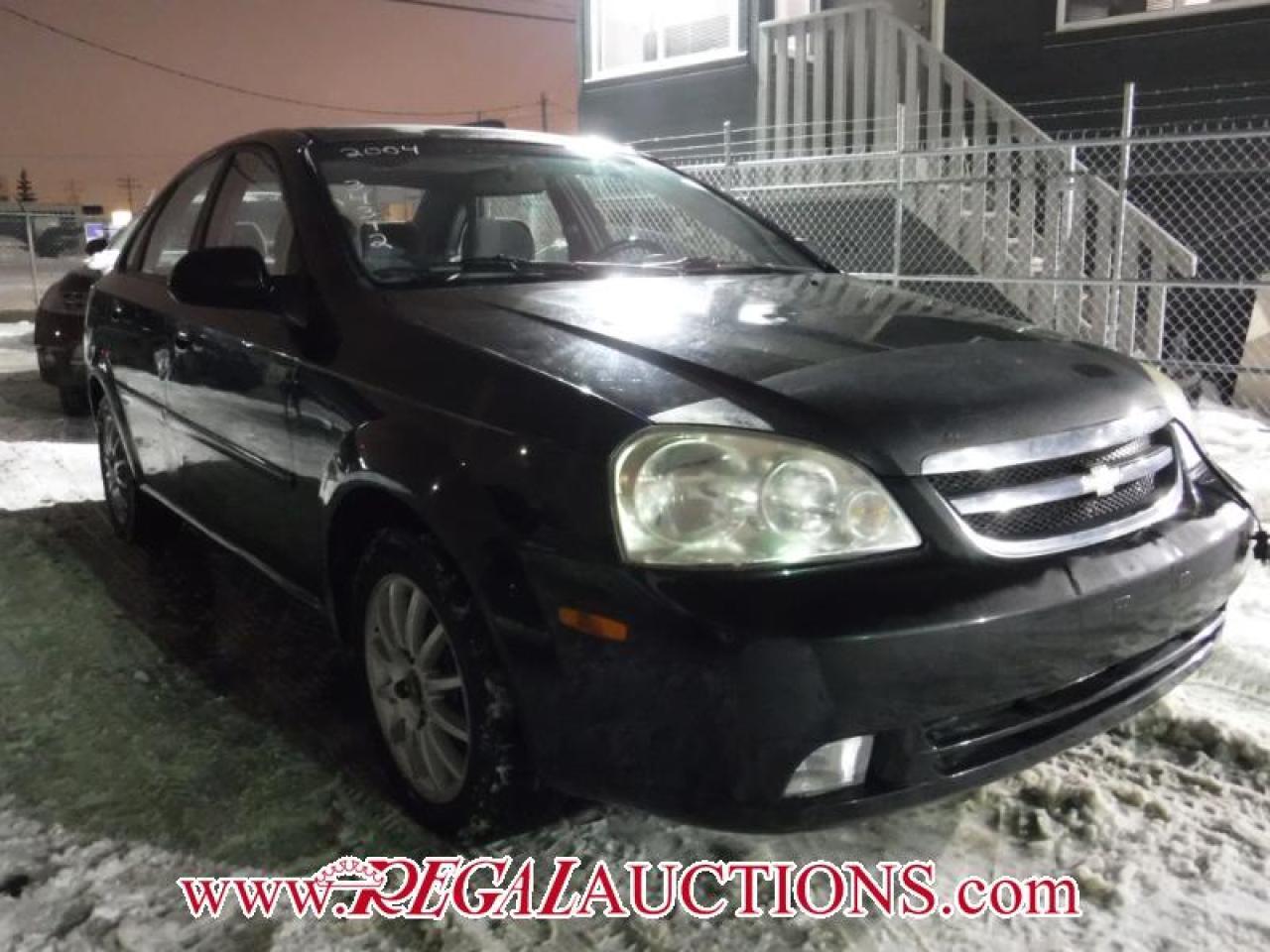 Photo of Black 2004 Chevrolet OPTRA  4D SEDAN