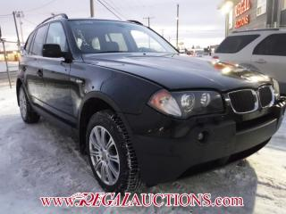 Used 2006 BMW X3  4D UTILITY for sale in Calgary, AB