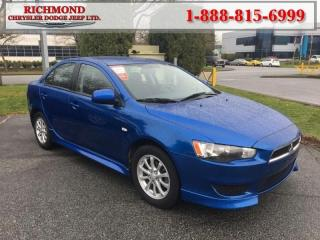 Used 2011 Mitsubishi Lancer SE for sale in Richmond, BC