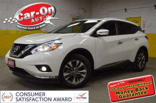 Used 2017 Nissan Murano SL AWD LEATHER NAVIGATION for sale in Ottawa, ON
