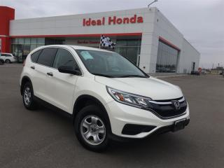 Used 2015 Honda CR-V LX, 16 steel wheels, air, cruise for sale in Mississauga, ON